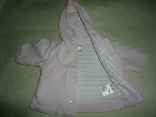 Dvojitý bavlněný kabátek NEXT, vel. 0-1 měsíc, do 4,5kg
