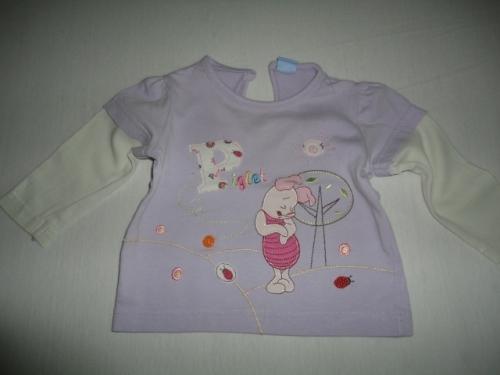 Krásné triko DISNEY, vel. 6-9 měsíců
