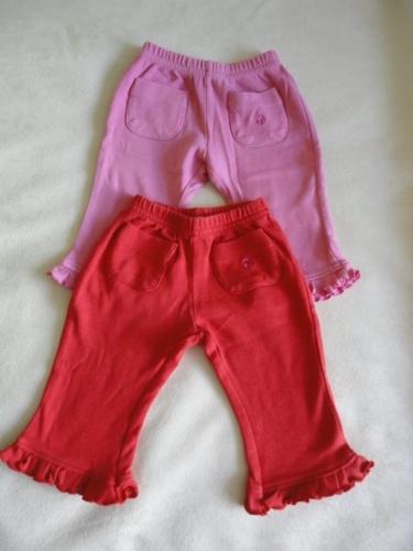 Krásné kalhotky/legíny LADY BIRD, vel. 0-3 měsíce, cena kus