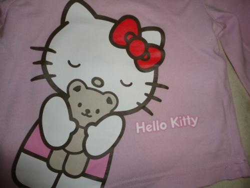 Krásné triko SANRIO s HELLO KITTY, vel. 3-4 měsíce