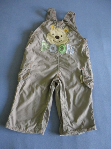 Vypodložené kalhoty GEORGE, vel. 3-6 měsíců, 8kg
